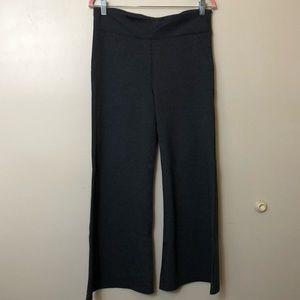 Betabrand Yoga Dress Pants. Gray. Large Petite.